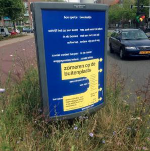 Driehoeksbord Amsterdam